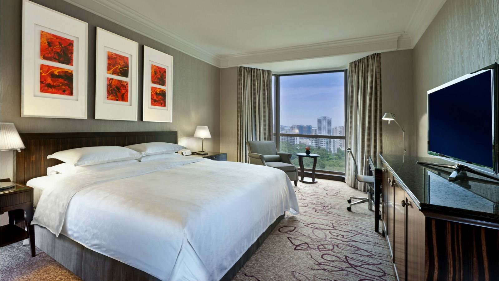 luxury hotels in singapore | guest rooms at sheraton towers singapore