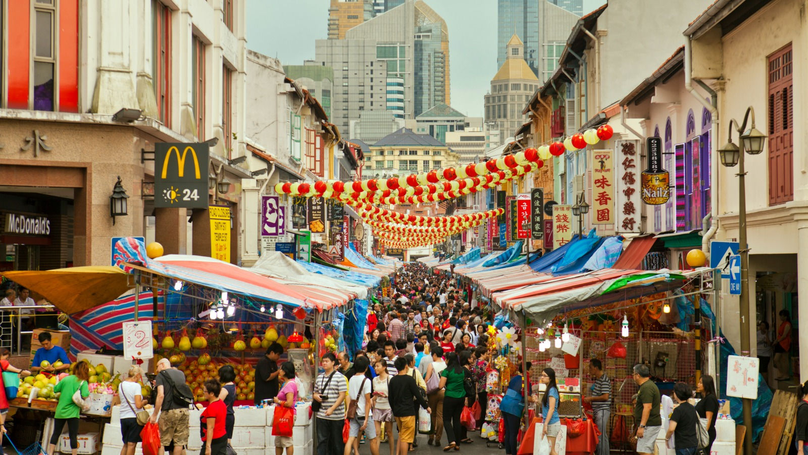Chinatown, a vibrant enclave of old and new