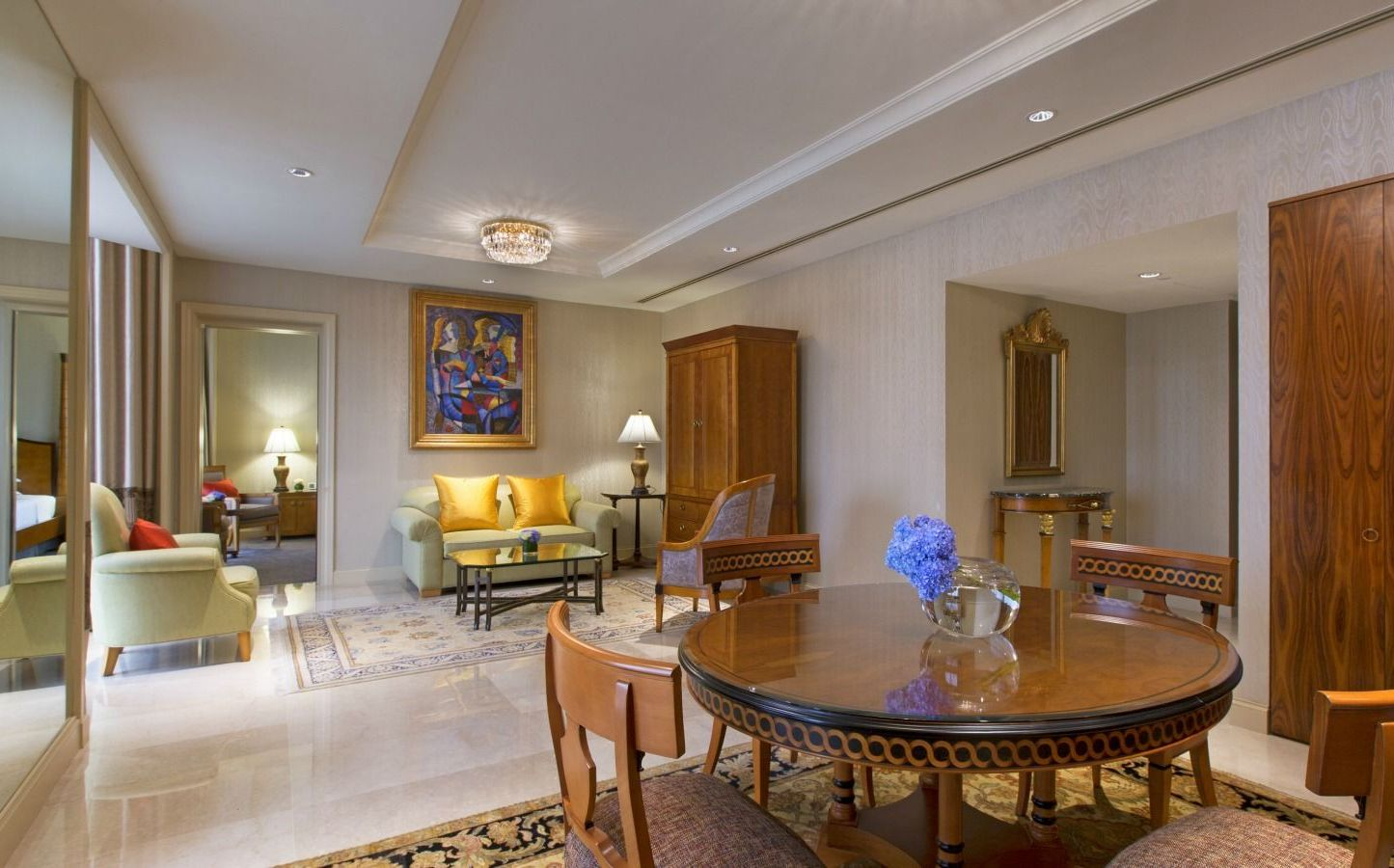 luxury hotel in singapore | deluxe suites at sheraton towers singapore